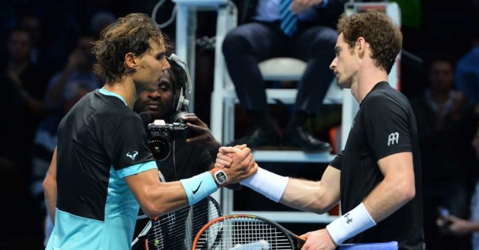 Rafael Nadal y Andy Murray