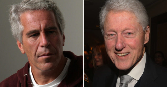 Jeffrey Epstein y Bill Clinton